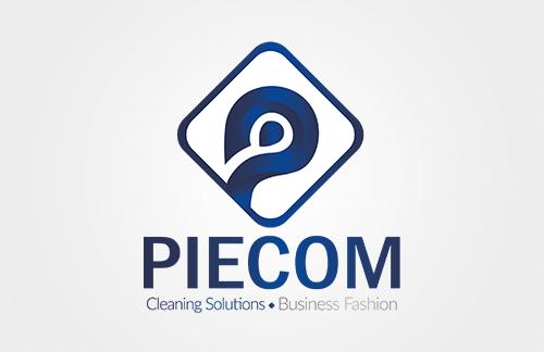 piecom-logo-voor-schoonmaakbedrijf